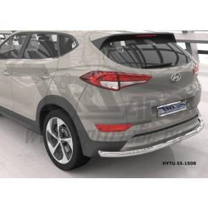 Can Otomotiv HYTU.55.1508 защита заднего бампера Hyundai Tucson (2015-) (одинарная) d60 кроме High-tech*