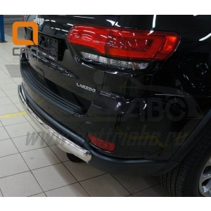Can Otomotiv JECH.57.1312 защита заднего бампера Jeep Grand Cherokee (2011-) (одинарная) овал d 70