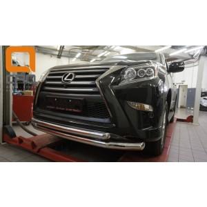 Can Otomotiv LE46.33.4601 защита переднего бампера Lexus GX460 (2014-) (двойная) d 76/60