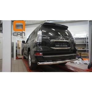 Can Otomotiv LE46.55.4604 защита заднего бампера Lexus GX460 (2014-) (одинарная) d 76