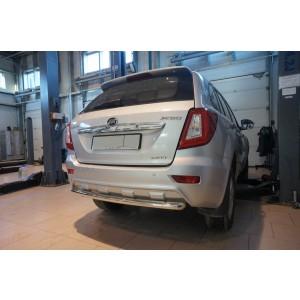 Can Otomotiv LIX6.55.8885 защита заднего бампера Lifan X60 (2013-) (одинарная) d 60