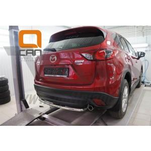 Can Otomotiv MAC5.57.0119 защита заднего бампера Mazda CX5 (2012-2015 /2015-) (одинарная) d 42