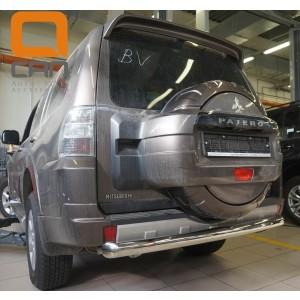 Can Otomotiv MIPA.55.1921 защита заднего бампера Mitsubishi Pajero IV (2011-2014/2014-) (одинарная) d 76
