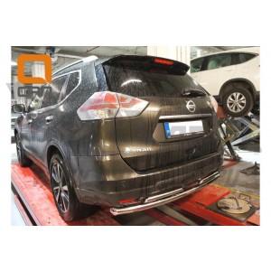 Can Otomotiv NIXT.57.2167 защита заднего бампера Nissan X-Trail (2014-) (двойная) d 60/42