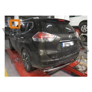 Can Otomotiv NIXT.57.2169 защита заднего бампера Nissan X-Trail (2014-) (одинарная) d 60