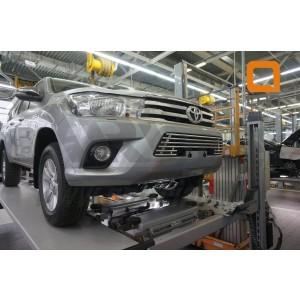 Can Otomotiv TOHI.27.4155 решетка радиатора Toyota Hilux (2015- ) d16