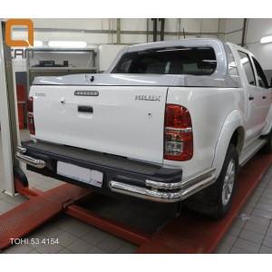 Can Otomotiv TOHI.53.4154 защита заднего бампера Toyota Hilux (2012-2015) (уголки) d 76/42