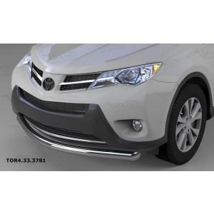 Can Otomotiv TOR4.33.3781 защита переднего бампера Toyota RAV4 (2013-2015) (одинарная) d 60