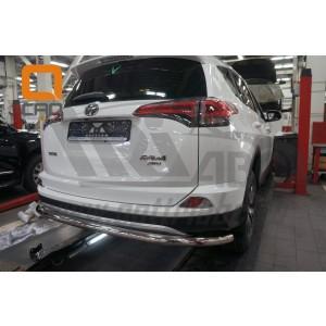 Can Otomotiv TOR4.55.3573 защита заднего бампера Toyota RAV4 (2016-) (одинарная) d60
