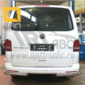 Can Otomotiv VWT5.53.3829 защита заднего бампера Volkswagen T5 /T6 (2012-) (уголки) d 60