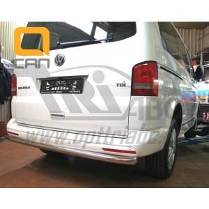 Can Otomotiv VWT5.57.3819 защита заднего бампера Volkswagen T5 /T6 (2012-) (одинарная) d 60