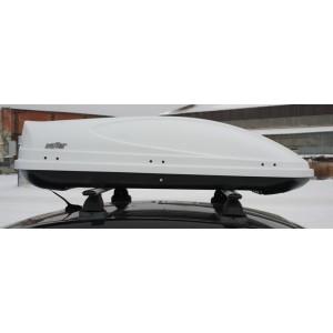 Koffer A-430 автобокс белый глянцевый 178x76x45 см