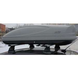 Koffer A-430 автобокс серый матовый 178х76х45 см