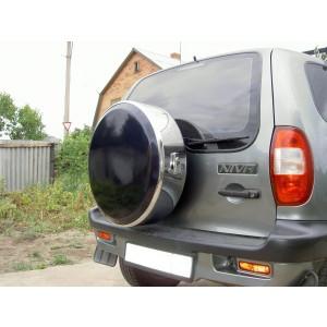 Руссталь бокс запасного колеса на Chevrolet Niva