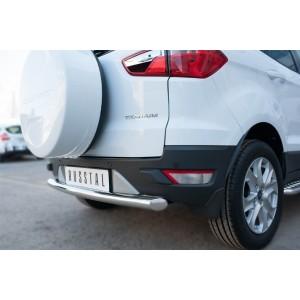 Руссталь FEZ-002060 защита заднего бампера d63 (дуга) на Ford Ecosport 2014-