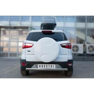 Руссталь FEZ-002061 защита заднего бампера d75х42 (дуга) на Ford Ecosport 2014-