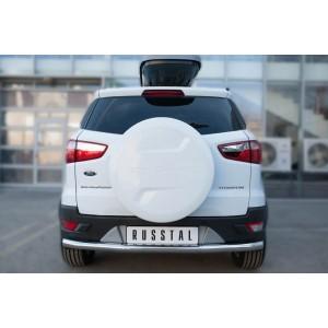 Руссталь FEZ-002062 защита заднего бампера d63 (секции) на Ford Ecosport 2014-