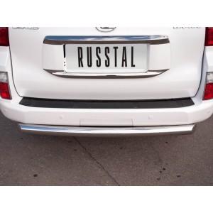 Руссталь GXZ-000808 защита заднего бампера d76 на Lexus GX460 2009-2012