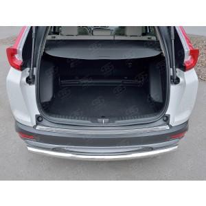 Руссталь HCRN-002838 накладка на задний бампер (лист нерж зеркальный) на Honda CR-V 2017-
