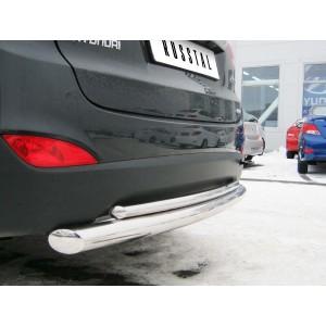 Руссталь HIZ-000184 защита заднего бампера d76/42 на Hyundai IX 35 2010-2012