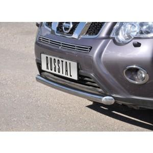 Руссталь XNZ-000960 защита переднего бампера d63 на Nissan X-Trail 2011-