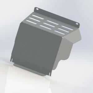 Руссталь ZKML20015-001 защита радиатора на Mitsubishi L200 2015-