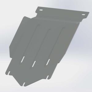 Руссталь ZKML20015-003 защита КПП на Mitsubishi L200 2015-