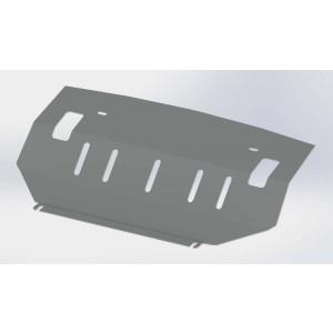 Руссталь ZKMPAJIV-06-001 защита радиатора на Mitsubishi Pajero 4 2006-2011