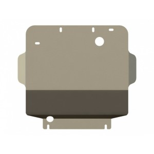 Защита картера алюминий 5 мм Шериф 04.1468 GMC Hummer H3 2005–2010