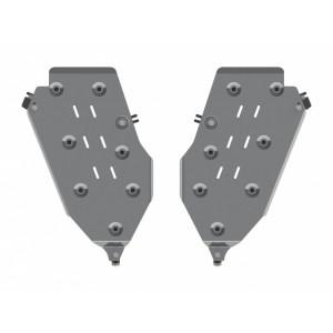 Защита топливного бака алюминий 5 мм Шериф 04.2722 Jeep Grand Cherokee 2014–