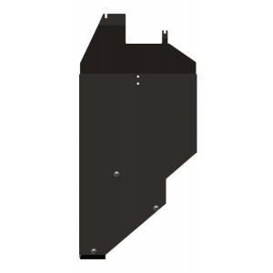 Защита топливного бака сталь 2,5 мм Шериф 14.2145 Mitsubishi Outlander XL 2010–2012