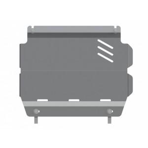 Защита картера алюминий 5 мм Шериф 14.2807 Mitsubishi L200 (Triton) задняя часть 2007–