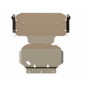 Защита картера алюминий 5 мм Шериф 15.1298 Infiniti QX56 2004–2010