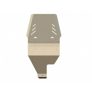 Защита АКПП алюминий 5 мм Шериф 15.1299 Infiniti QX56 2004–2010