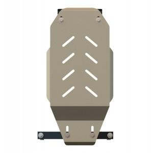 Защита АКПП алюминий 5 мм Шериф 15.1408 Infiniti Q50/Q60 – для 1406 (G25) 2010–2014