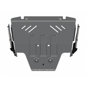Защита картера алюминий 5 мм Шериф 22.2551 Subaru Forester 2013–