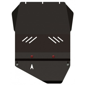 Защита АКПП и РК сталь 3 мм Шериф 29.1216 SsangYong Rexton II –2007