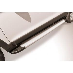 "Slitkoff AL-CHCap1302 пороги алюминиевые ""Optima Silver"" Chevrolet Captiva (2013)"