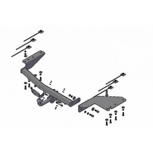 Фаркоп Трейлер 5010 на JAC Rein универсал 2007–2010