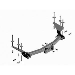 Фаркоп Трейлер 7500 К2 на SsangYong Rexton 2006–2009 (пр–во КамАЗ в Набережных Челнах)