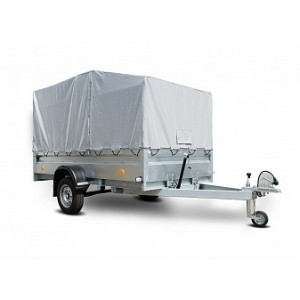 Прицеп для перевозки снегохода Трейлер 829450 3,0x1,5 УВ рессорный